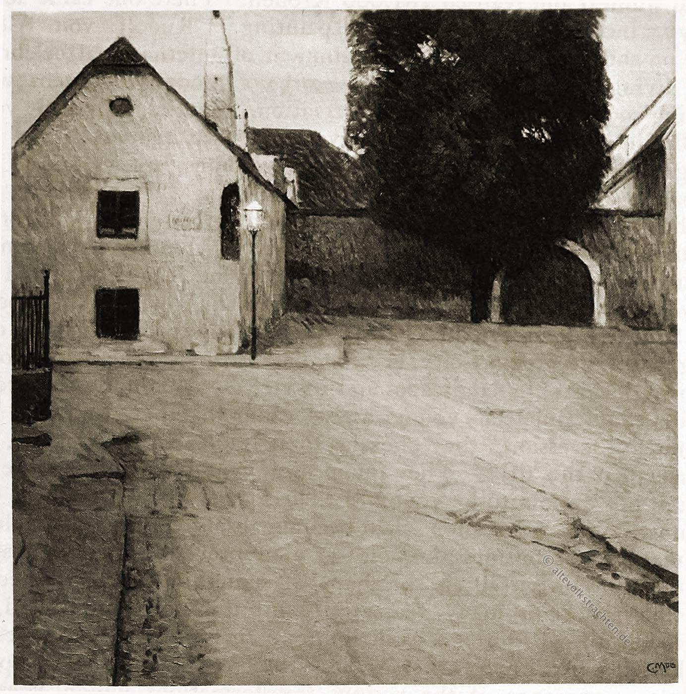 Carl Moll, Beethoven, Haus, Heiligenstadt,