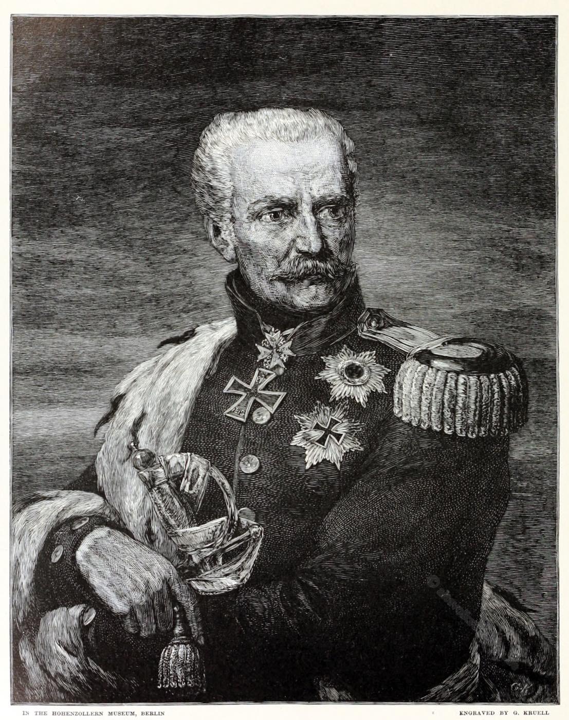 Gebhard Leberecht, Blücher, Befreiungskriege,