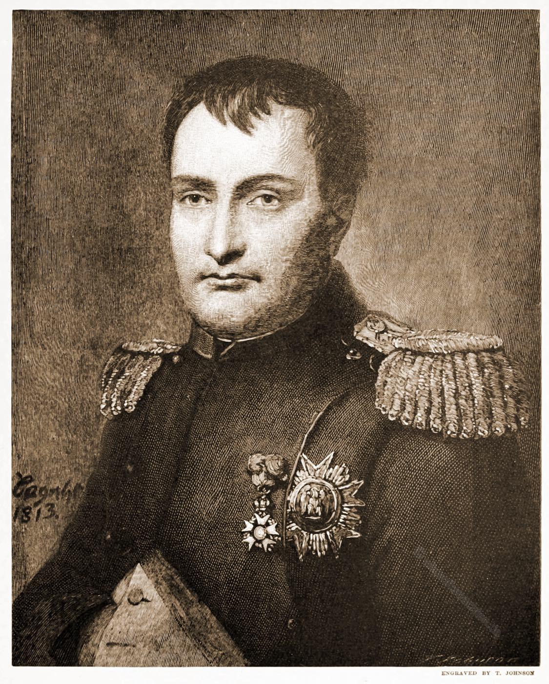Napoleon Bonaparte, Befreiungskriege, Porträt, Amable-Louise-Claude Pagnest