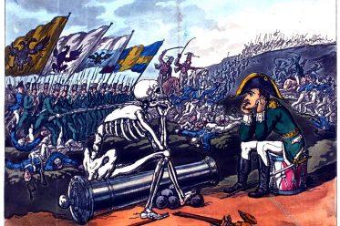 Bonaparte, Death, Thomas Rowlandson