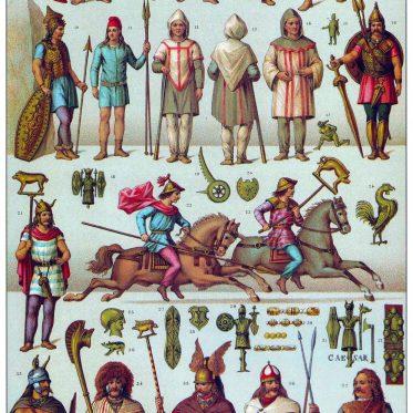 Gallier. Die Bewohner Galliens vor der römischen Eroberung.