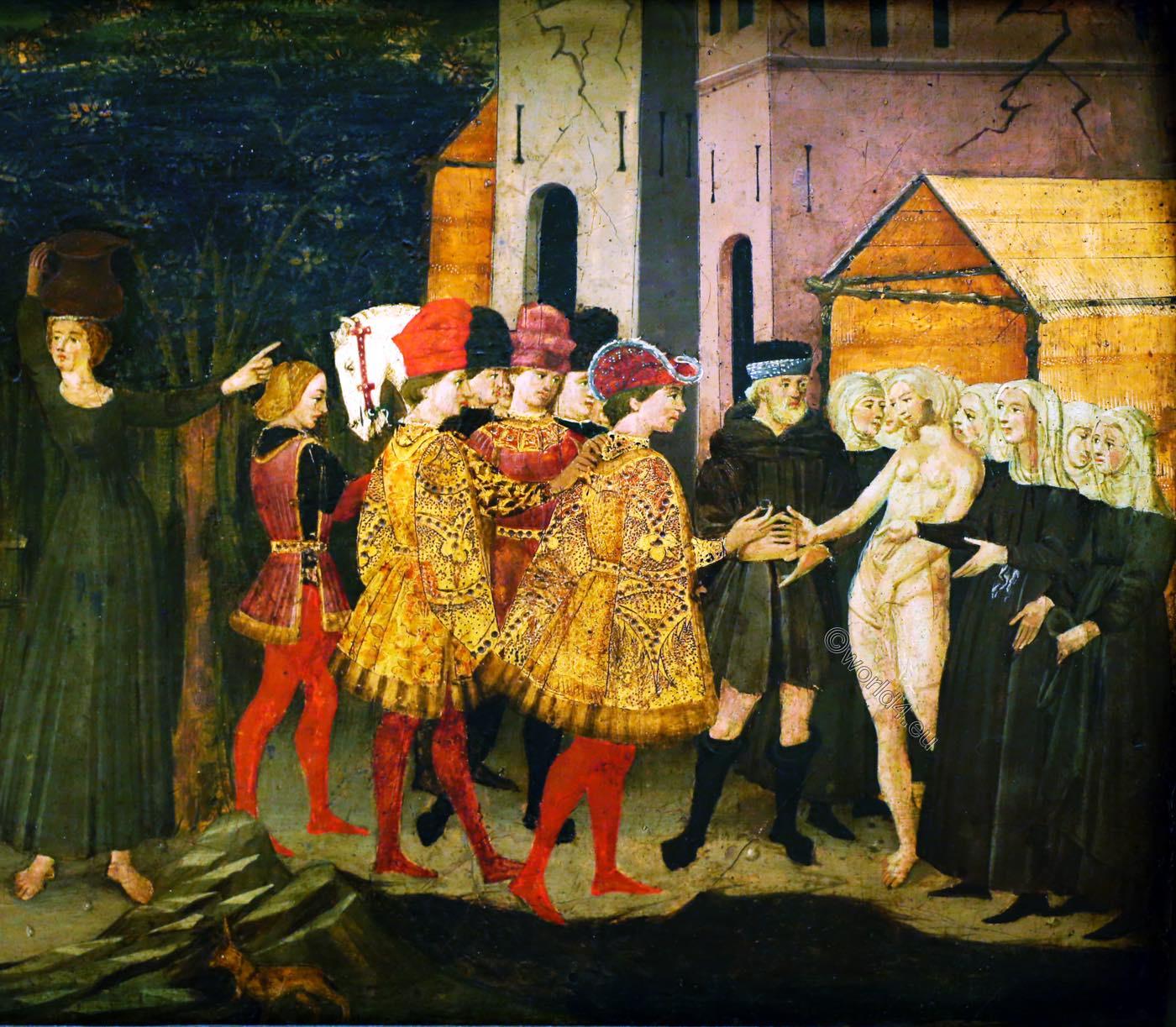 Griselda, Apollonio, Giovanni, Renaissance