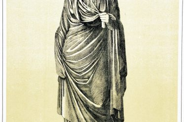 Agrippina, Stola, Palla, Kostümgeschichte, Antike, Rom, Römerin, Tunica interior,