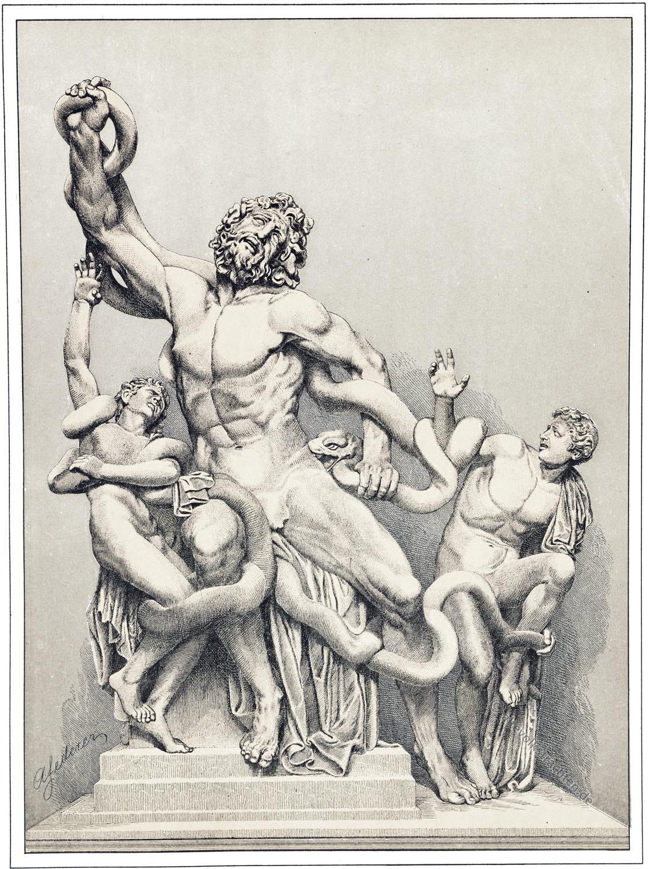 Laokoon, Laokoon-Gruppe, Skulptur, Antike, Griechenland, Kunstwerk, Altertum