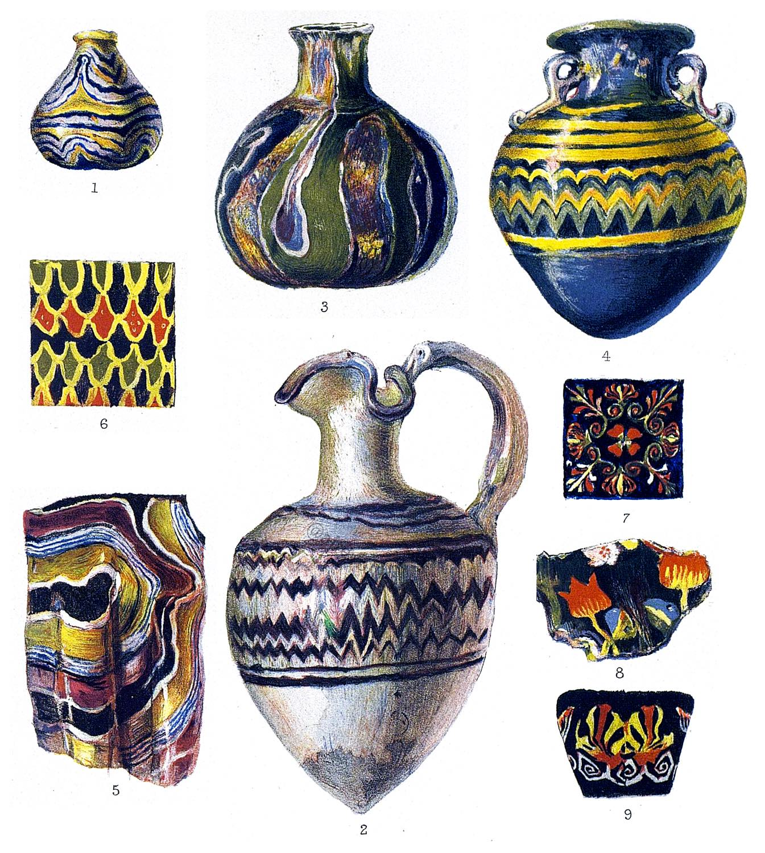 Antiquitäten, römisch, griechisch, Gläser, Glas, Antike