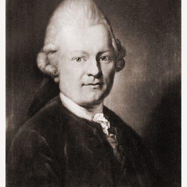 Gotthold Ephraim Lessing. Vertreter der Epoche der Aufklärung.