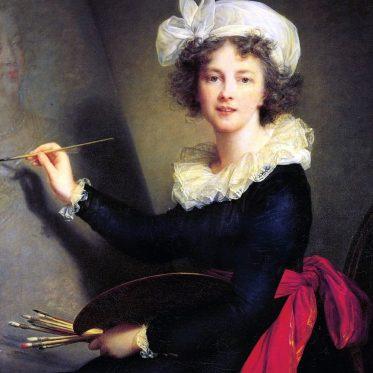Marie Louise Elisabeth Vigée-Lebrun. Französische Porträtmalerin.