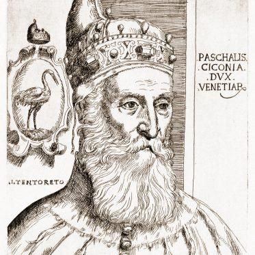 Pasquale Cicogna, achtundachtzigster Doge der Republik Venedig.