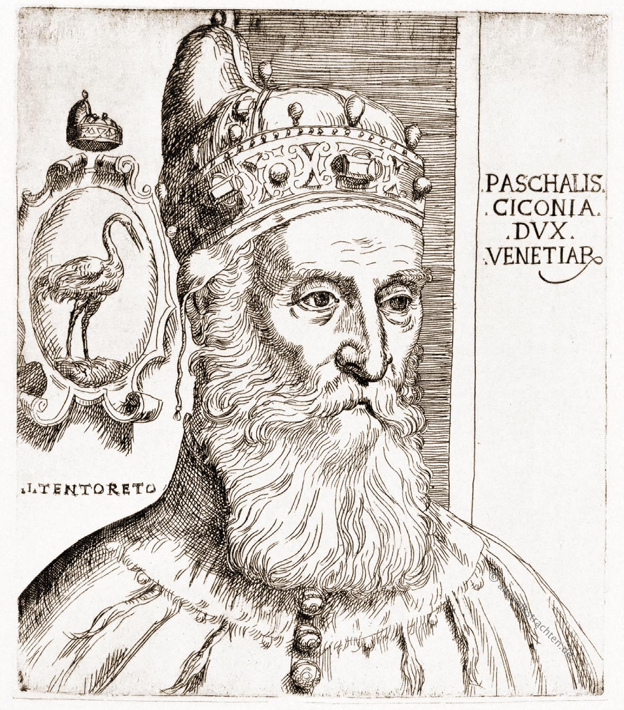 Pasquale Cicogna, Doge, Venedig, Tintoretto