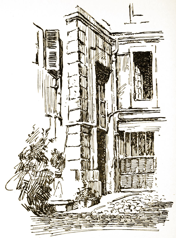 Paris, Rue, Tournelles, Ninon, Lenclos