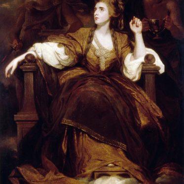 Sarah Siddons. Britische Schauspielerin des 18. Jahrhunderts.