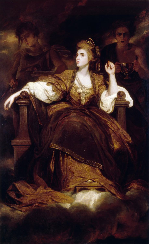 Sarah Siddons, Schauspielerin, England, Gemälde, Joshua Reynolds,