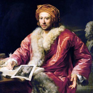 Johann Joachim Winckelmann deutscher Kunsthistoriker und Archäologe.