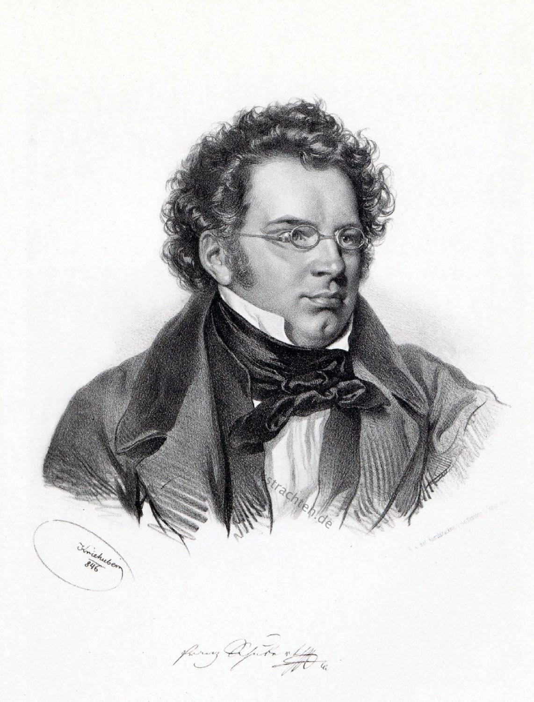 Franz Schubert, Komponist, Österreich, Frühromantik, Klassizismus,