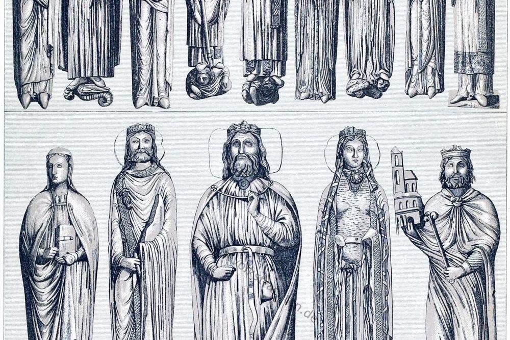 vornehme Stände, Trachten, Mittelalter, Adel,