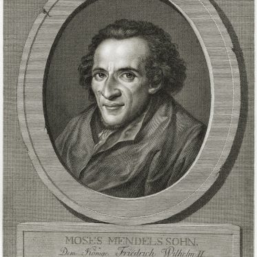 Moses Mendelssohn deutsch-jüdischer Philosoph der Aufklärung.