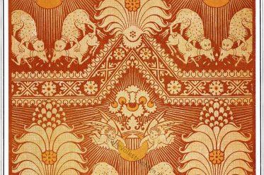 Gewebe, Textildesign, Mittelalter, arabisch, Sarazenen,