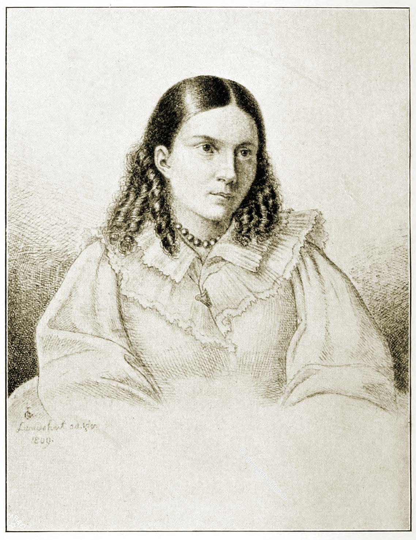 Bettina von Arnim, Romantik, Kupferstich