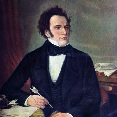 Franz Schubert. Komponist der Spätklassik und Frühromantik.