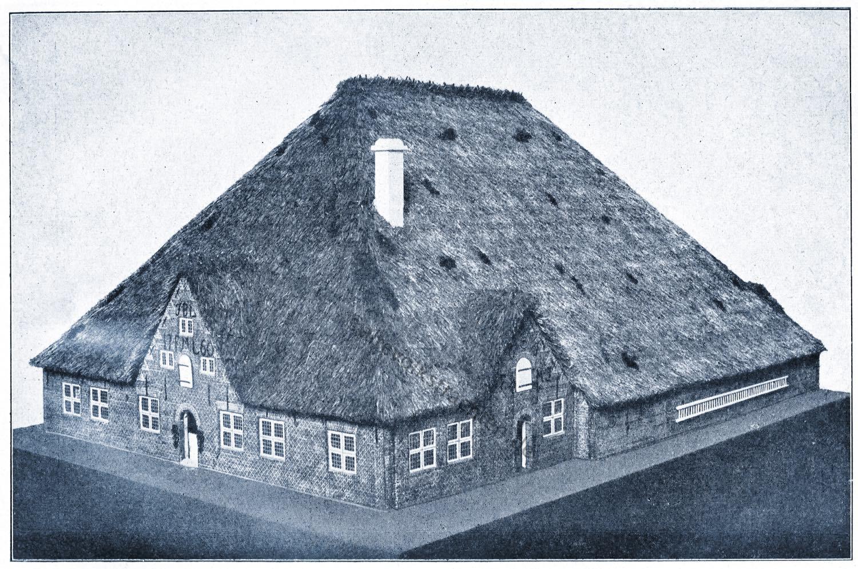 Friesenhaus, Marschenhaus, Hauberg, Schleswig- Holstein