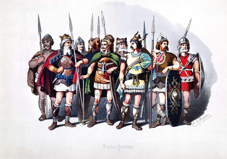 Rheingold, Nibelungen, Oper, Richard Wagner, Kostümentwürfe