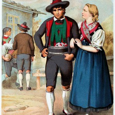 Die charakteristischen Merkmale der Tiroler Tracht.