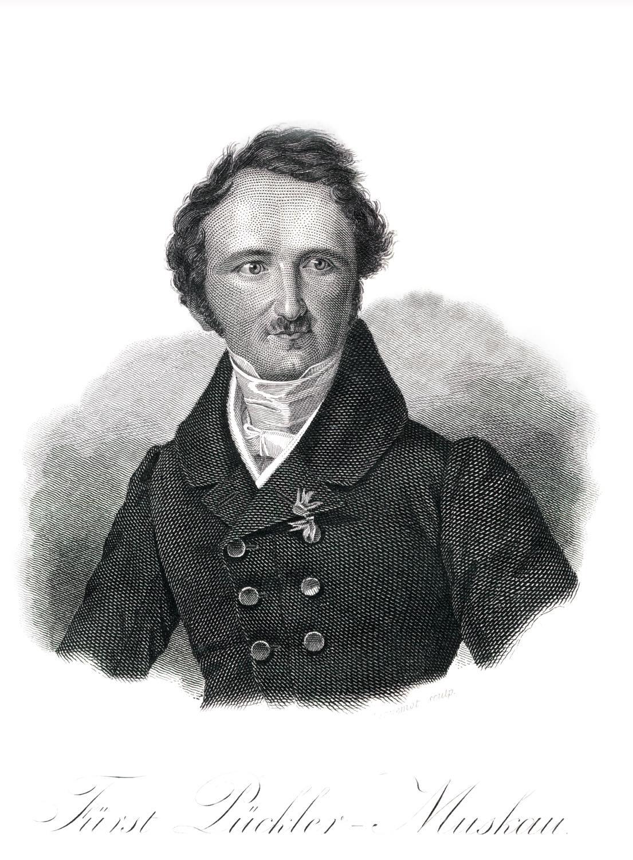 Fürst, Pückler-Muskau, Porträt