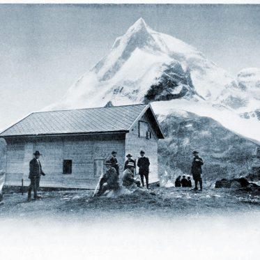 Die Schönbielhütte. Edward Whymper und das Matterhorn.