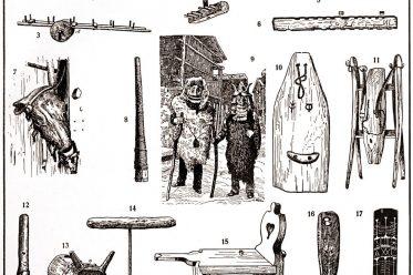 Alpenvölker, Schweiz, Wirtschaftsformen, Alphorn, Schutzmedizin, Roitscheggeten, Fellschaber, Masken