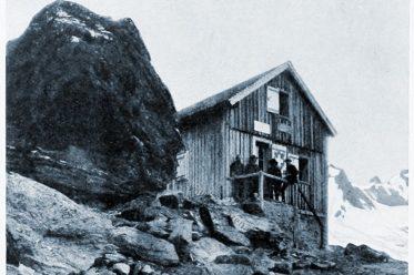 Valsoreyhütte, Walliser Alpen, Schweiz, Alpenhütte,
