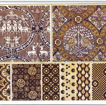 Frühmittelalterliche und gotische Textilgewebe des 4. bis 12. Jhs.