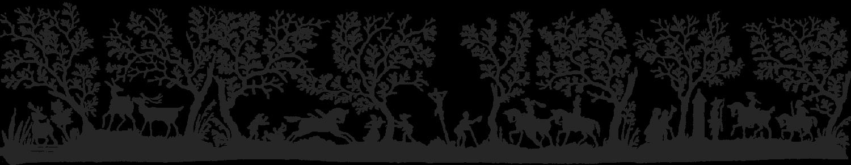 Scherenschnitt, Rokoko, Illustration