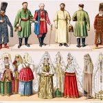 Kleidung der Bojaren und Kosaken im Russland des 16. und 19. Jhs.