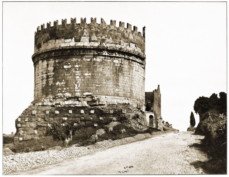 Grabmal, Caecilia Metella, Rom, Antike, Mausoleum, Bauwerk, Architektur