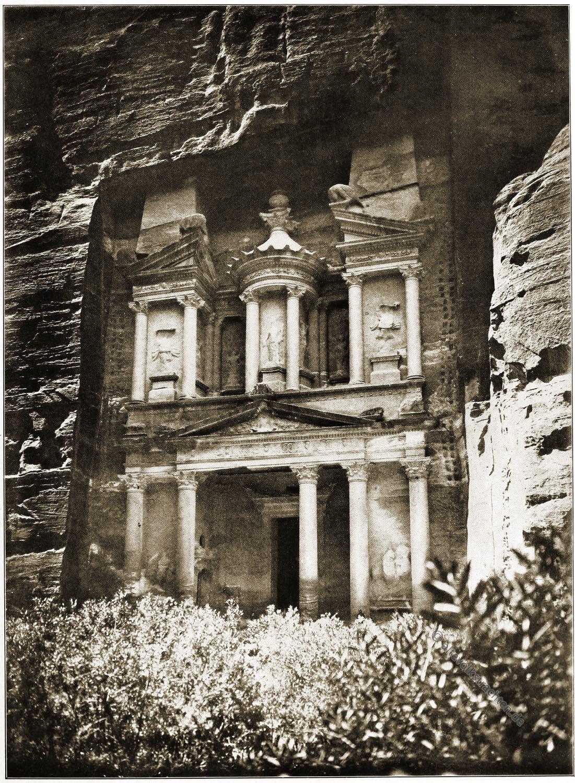 Petra, Jordanien, Khazne al-Firaun, Isistempel, Fassade, Arabien, Nabatäer,