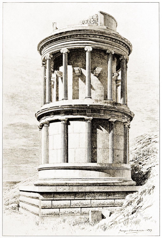 Ephesos, Monopteros, Panayir-Dag. Panayirdag, Rundbau, Türkei, Selçuk,