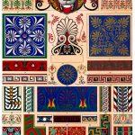 Griechische und griechisch-römische Altertümer. Dekoration und Ornamente.