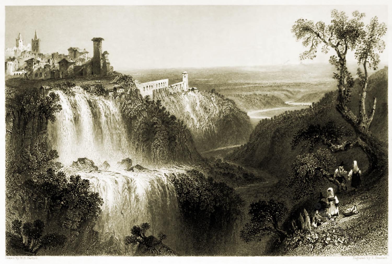Villa, Tivoli, Maecenas, Antike, Ruinen,
