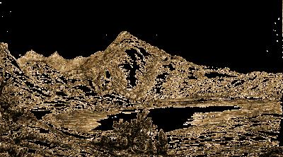 Illustration, Monte Vulture, Italien, Landschaft,
