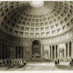 Das Pantheon als eines der vollkommensten Beispiele antiker Architektur.