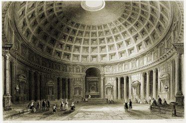 Pantheon, Rotonda, Rom, Antike, BauwerkArchitektur,