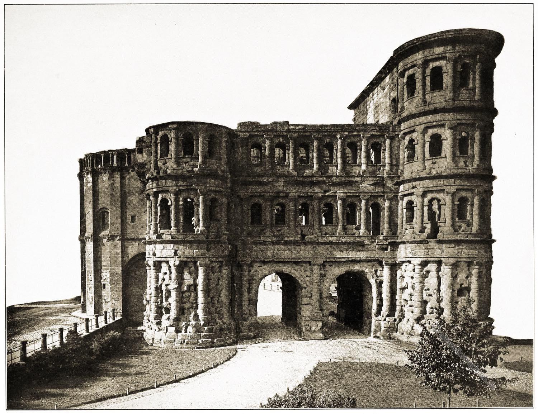 Porta nigra, Trier, Stadttor, Antike, Rom, Bauwerk, Baukunst,