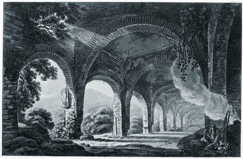 Villa, Maecenas, Tivoli, Italien, Ruine, Antike, James Mérigot