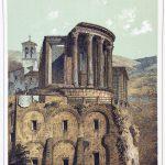 Römischer Tempel der Vesta in Tivoli. 1. Jh. vor Chr.