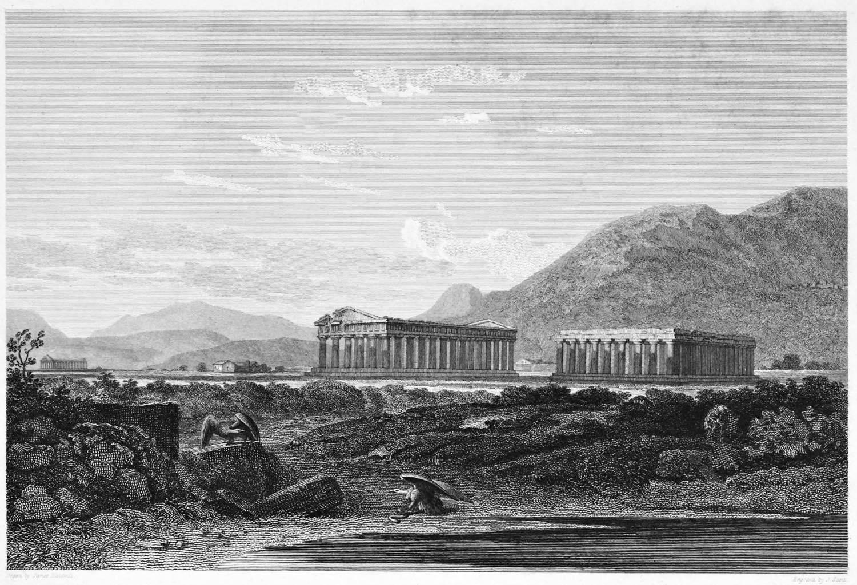 Antike, Tempel, Italien, Tempelanlagen, Posidonia, Paestum