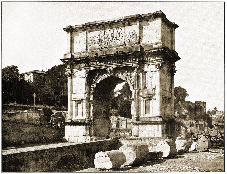 Titusbogen, Domitian, Antike, Baukunst, Rom, Architektur, Triumpfbogen,