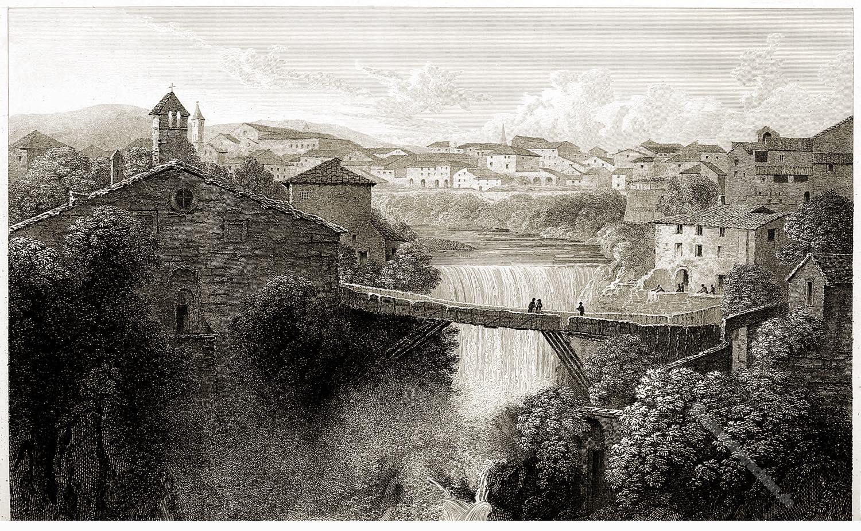 Tivoli, Tempel, Vesta, Antike, Landschaft,