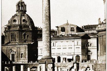 Trajanssäule, Rom, Trajansforum, Bauwerk, Antike