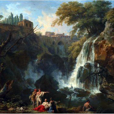 Villa , Maecenas, Vernet, Tivoli, Wasserfälle,