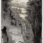 Das Grab des Virgil. Italienische Landschaften von E. F. Batty.